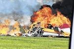 Máy bay chiến đấu rơi tại Thụy Sĩ, 3 người thiệt mạng