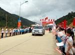 Thông xe đường vành đai đi cửa khẩu Huổi Puốc, giáp Lào
