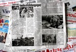 Lào đưa tin đậm nét Chiến thắng Điện Biên Phủ