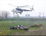 Thêm một trực thăng Ukraine bị bắn rơi