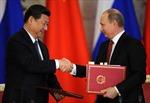 Trung Quốc bắt tay Nga bẻ cong 'trục' của Mỹ