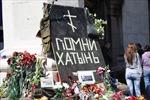 Tòa nhà Công đoàn Odessa hoang tàn sau thảm kịch