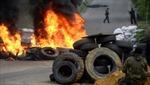 Kiev dùng trực thăng, xe bọc thép, tên lửa trấn áp người biểu tình