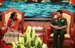 Đoàn Học viện Quốc phòng Ấn Độ sang thăm Việt Nam