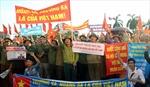 Cựu TNXP và chiến sĩ Trường Sơn phản đối Trung Quốc