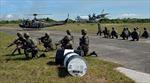 Philippines, Mỹ diễn tập bắn đạn thật