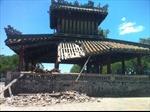 Phu Văn Lâu ở Cố đô Huế bị sạt mái