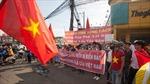 Tuyên truyền cho công nhân lao động về tình hình biển Đông