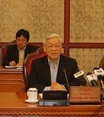 Bộ Chính trị gặp mặt cán bộ lãnh đạo cấp cao đã nghỉ hưu khu vực phía Bắc