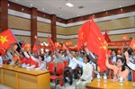 Việt kiều Campuchia mít tinh phản đối Trung Quốc