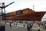 Lần đầu tiên TP.HCM đón tàu biển tải trọng trên 50.000 tấn