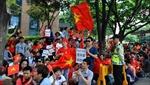 Người Việt tuần hành trước sứ quán Trung Quốc tại Rome