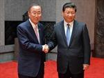 Chủ tịch Trung Quốc hội kiến Tổng Thư ký LHQ