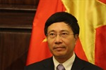 PTT Phạm Bình Minh: Đấu tranh yêu cầu Trung Quốc rút giàn khoan 981