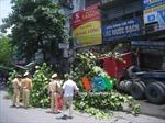 Hà Nội: Xe container đâm vào nhà dân, cán chết người