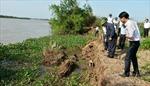 Cấp bách xử lý sự cố lở bờ sông Rạng
