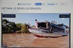 Vẻ đẹp Việt Nam lên sóng 'giờ vàng' truyền hình Pháp