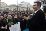 Võ sĩ Vitali Klitschko là tân Thị trưởng Kiev