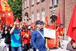 Người Việt 'nhuộm đỏ' quảng trường Triangeln, Thụy Điển