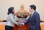 Bộ trưởng Ngoại giao Phạm Bình Minh tiếp Phó Tổng Thư ký LHQ