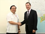 Phó Thủ tướng Hoàng Trung Hải tiếp Tổng Thư ký CITES