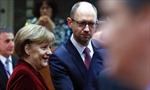 Về cuộc gặp giữa Thủ tướng Ukraine - Đức