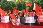 Người Việt tại Canada phản đối Trung Quốc xâm phạm chủ quyền
