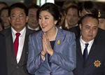 Bà Yingluck gửi thông điệp tới người ủng hộ sau đảo chính
