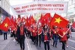 Tiếp tục tuần hành phản đối Trung Quốc tại Thụy Điển