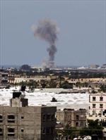 Israel không kích Dải Gaza