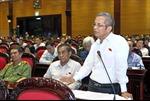 Cử tri đồng tình quan điểm của Đảng, QH, CP về vấn đề Biển Đông