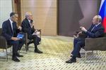 Nga, Pháp, Anh thảo luận giải pháp cho khủng hoảng Ukraine
