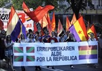 Tuần hành rầm rộ đòi xóa bỏ chế độ quân chủ ở Tây Ban Nha