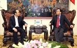 Phó Thủ tướng Hoàng Trung Hải tiếp Thứ trưởng Bộ Chiến lược và Tài chính Hàn Quốc