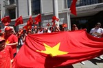 Cộng đồng tại Anh tiếp tục phản đối Trung Quốc