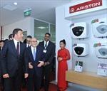 Thủ tướng Ý Matteo Renzi thăm nhà máy Ariston