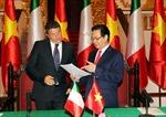 Tăng cường quan hệ Đối tác chiến lược Việt Nam - Italy