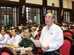 Đại biểu hài lòng phần trả lời của Bộ trưởng Đinh Tiến Dũng