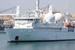 Chiến hạm tình báo Italy, Pháp sắp vào Biển Đen
