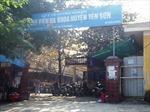 Dừng mọi hoạt động xử lý rác tại BV đa khoa Yên Sơn - Tuyên Quang