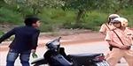 Say men, gây sự hành hung... cảnh sát giao thông