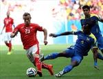 Lượt trận đầu bảng E Thụy Sĩ-Ecuador: Dấu ấn Hitzfeld