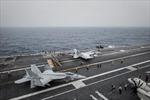Tàu sân bay Mỹ đón quan khách quân đội Trung Quốc