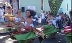 Bữa tiệc trên đường phố Brazil