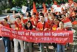 Người Việt tại Nhật Bản tuần hành phản đối Trung Quốc