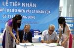 Tiếp nhận hơn 5.000 hiện vật của giáo sư Lê Quang Long