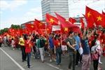 Việt kiều tại Đức 'nhuộm đỏ' Frankfurt am Main