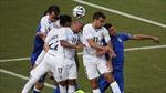 Lần đầu tiên Uruguay thắng hai trận liên tục trước các đội bóng châu Âu