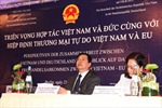 Diễn đàn doanh nghiệp Việt-Đức thành công tốt đẹp