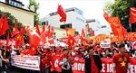 Mít tinh tại Mexico đòi Trung Quốc rút giàn khoan